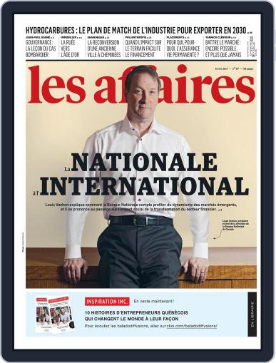 Les Affaires (Digital) April 8th, 2017 Issue Cover