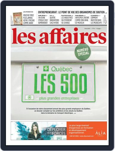 Les Affaires (Digital) May 20th, 2017 Issue Cover