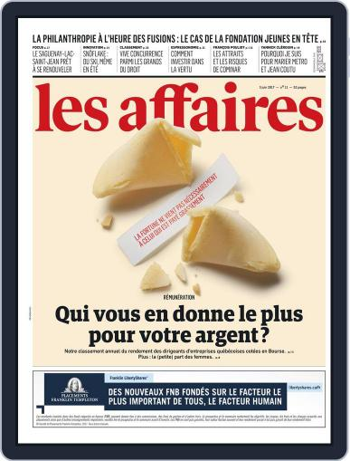 Les Affaires (Digital) June 3rd, 2017 Issue Cover