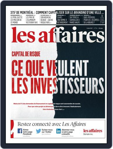 Les Affaires (Digital) July 8th, 2017 Issue Cover
