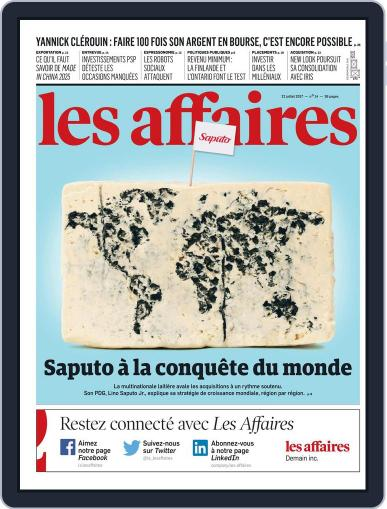 Les Affaires (Digital) July 22nd, 2017 Issue Cover