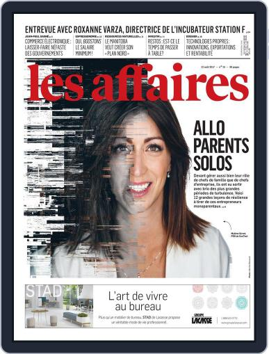 Les Affaires (Digital) August 12th, 2017 Issue Cover