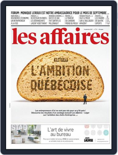 Les Affaires (Digital) September 9th, 2017 Issue Cover
