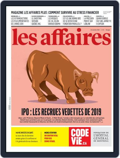 Les Affaires (Digital) November 23rd, 2019 Issue Cover