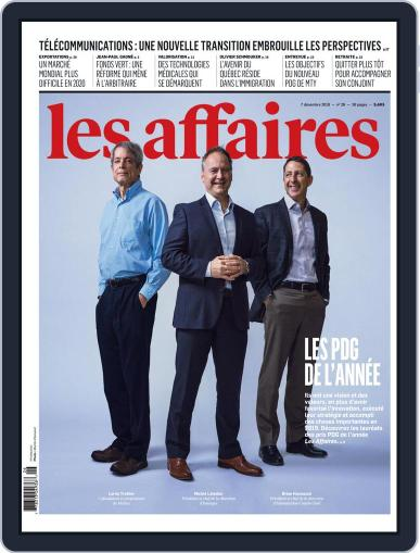 Les Affaires (Digital) December 7th, 2019 Issue Cover