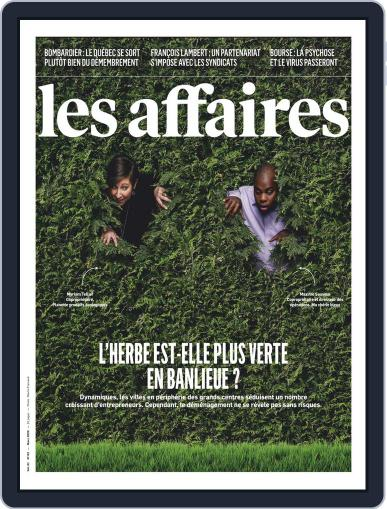 Les Affaires (Digital) March 1st, 2020 Issue Cover