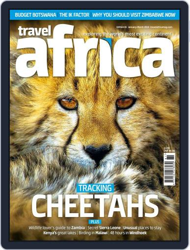 Travel Africa (Digital) January 1st, 2018 Issue Cover