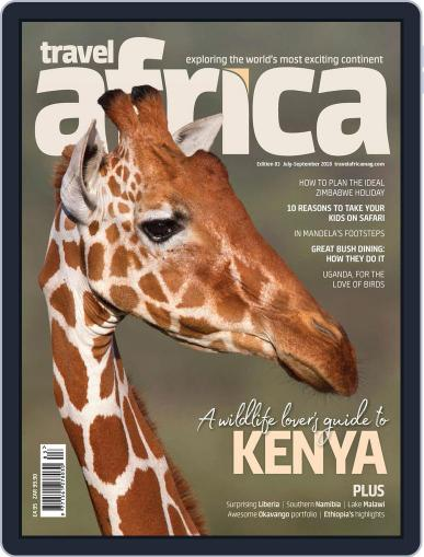 Travel Africa (Digital) July 15th, 2018 Issue Cover