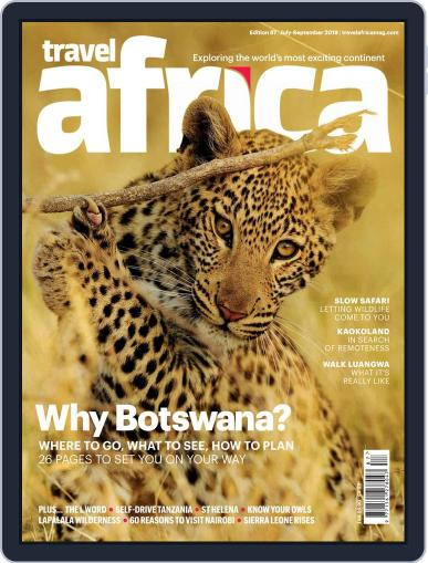 Travel Africa (Digital) July 1st, 2019 Issue Cover