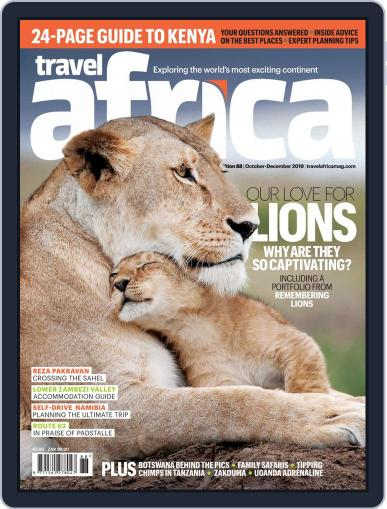 Travel Africa (Digital) October 1st, 2019 Issue Cover