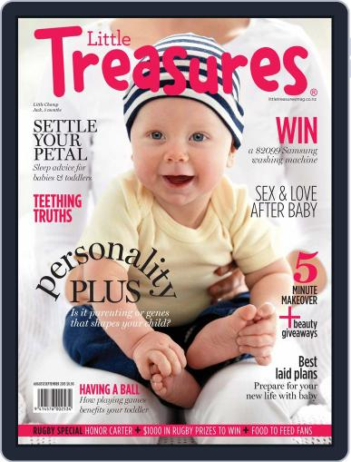 Little Treasures (Digital) July 9th, 2015 Issue Cover