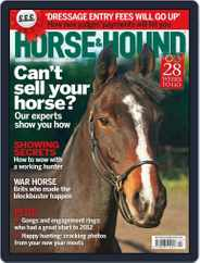 Horse & Hound (Digital) Subscription January 12th, 2012 Issue