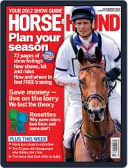 Horse & Hound (Digital) Subscription February 23rd, 2012 Issue