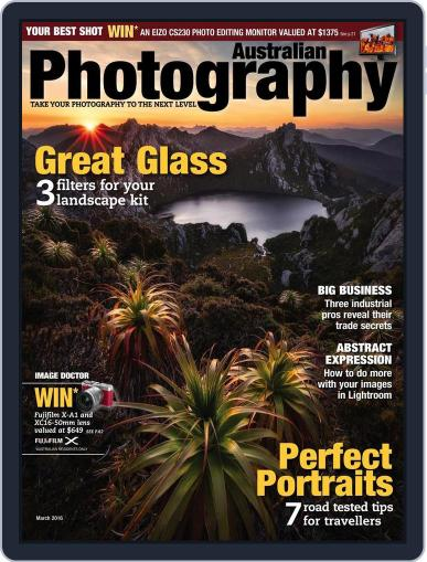 Australian Photography (Digital) February 15th, 2016 Issue Cover