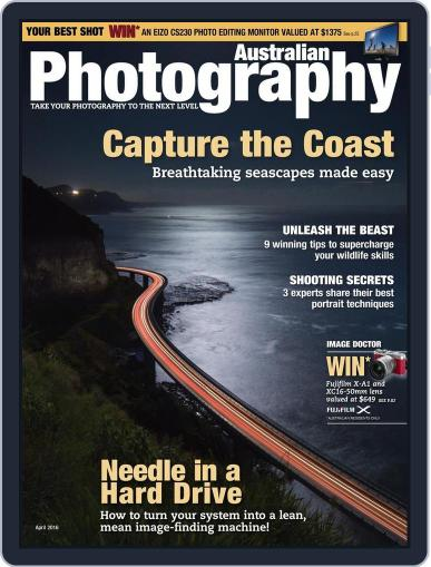 Australian Photography (Digital) March 21st, 2016 Issue Cover