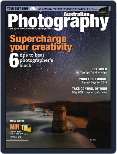 Australian Photography (Digital) April 11th, 2016 Issue Cover