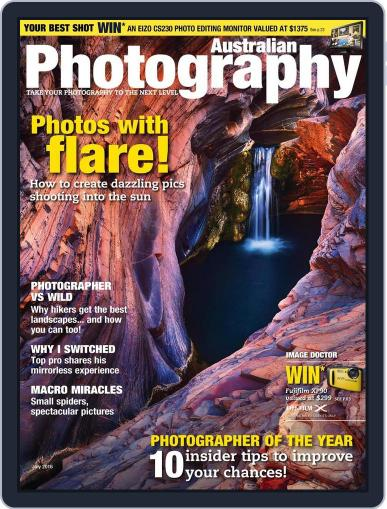 Australian Photography (Digital) June 16th, 2016 Issue Cover