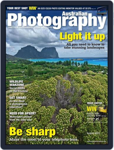 Australian Photography (Digital) July 11th, 2016 Issue Cover