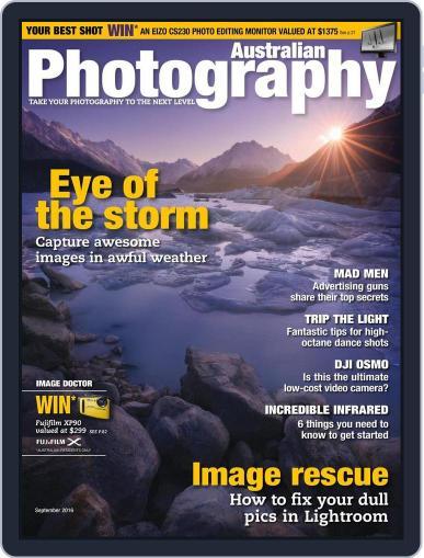 Australian Photography (Digital) September 1st, 2016 Issue Cover