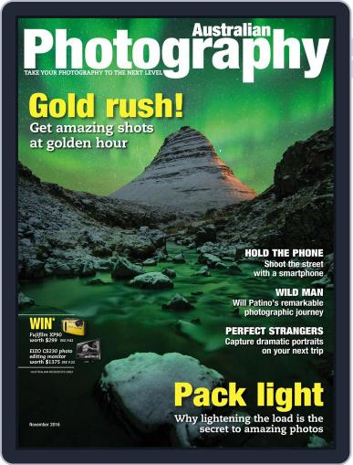 Australian Photography (Digital) November 1st, 2016 Issue Cover