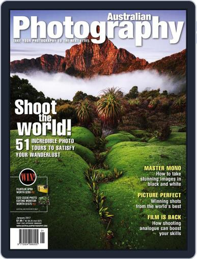 Australian Photography (Digital) January 1st, 2017 Issue Cover