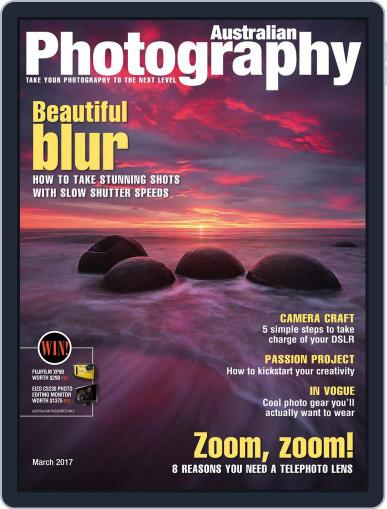 Australian Photography (Digital) March 1st, 2017 Issue Cover