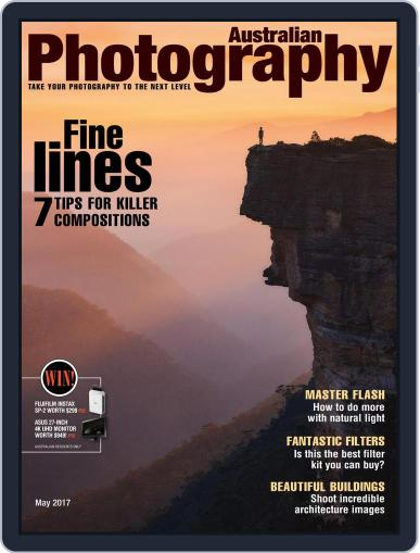 Australian Photography (Digital) May 1st, 2017 Issue Cover