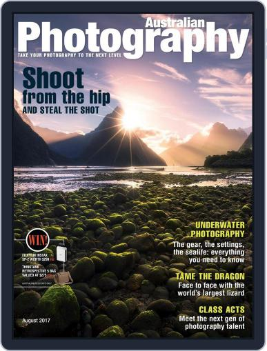 Australian Photography (Digital) August 1st, 2017 Issue Cover