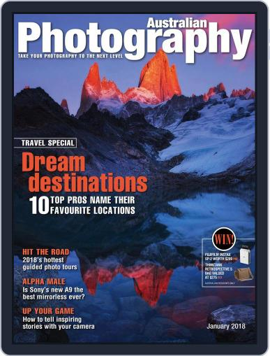 Australian Photography (Digital) January 1st, 2018 Issue Cover
