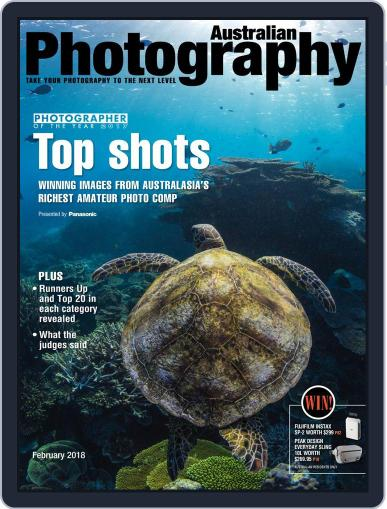 Australian Photography (Digital) February 1st, 2018 Issue Cover