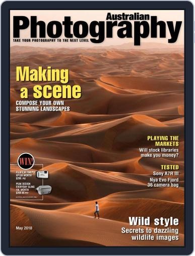 Australian Photography (Digital) May 1st, 2018 Issue Cover