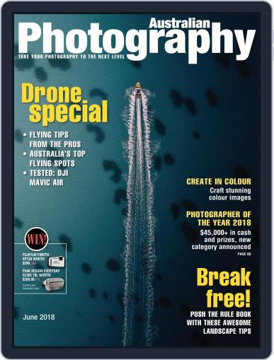 Australian Photography (Digital) June 1st, 2018 Issue Cover