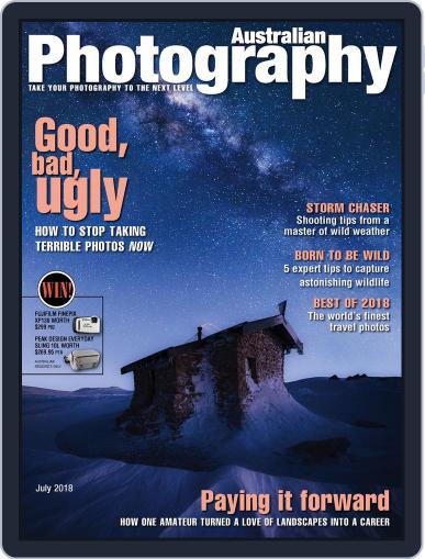 Australian Photography (Digital) July 1st, 2018 Issue Cover