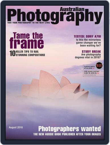 Australian Photography (Digital) August 1st, 2018 Issue Cover