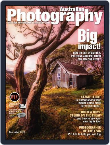Australian Photography (Digital) September 1st, 2018 Issue Cover