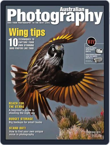 Australian Photography (Digital) October 1st, 2018 Issue Cover