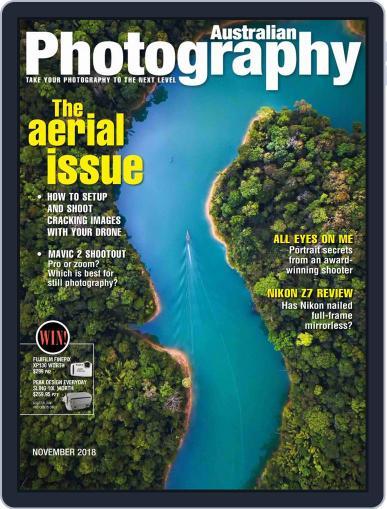 Australian Photography (Digital) November 1st, 2018 Issue Cover