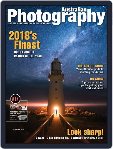 Australian Photography (Digital) December 1st, 2018 Issue Cover