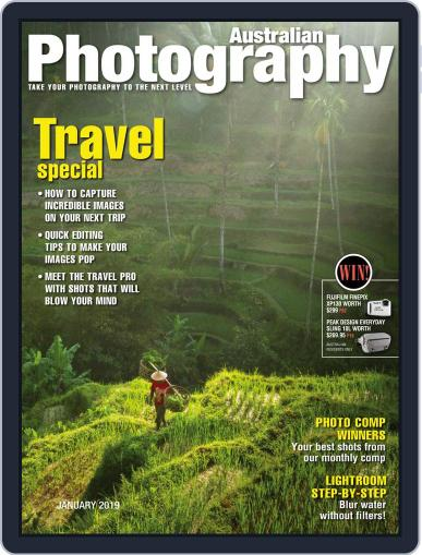 Australian Photography (Digital) January 1st, 2019 Issue Cover