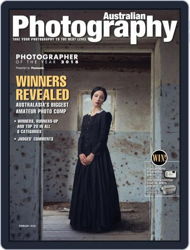 Australian Photography (Digital) February 1st, 2019 Issue Cover