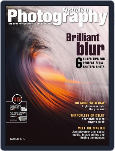 Australian Photography (Digital) March 1st, 2019 Issue Cover
