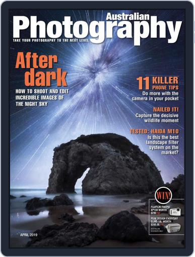 Australian Photography (Digital) April 1st, 2019 Issue Cover