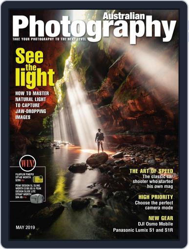 Australian Photography (Digital) May 1st, 2019 Issue Cover