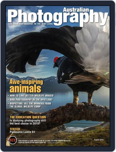 Australian Photography (Digital) August 1st, 2019 Issue Cover