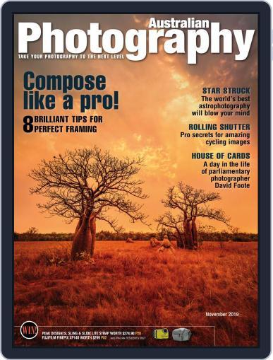 Australian Photography (Digital) November 1st, 2019 Issue Cover