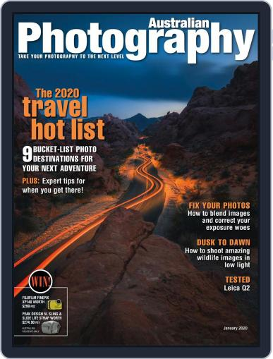 Australian Photography (Digital) January 1st, 2020 Issue Cover