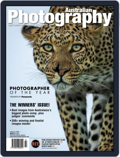 Australian Photography (Digital) February 1st, 2020 Issue Cover