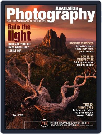 Australian Photography (Digital) April 1st, 2020 Issue Cover