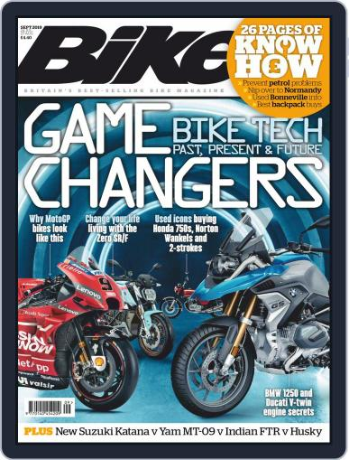 BIKE United Kingdom (Digital) September 1st, 2019 Issue Cover