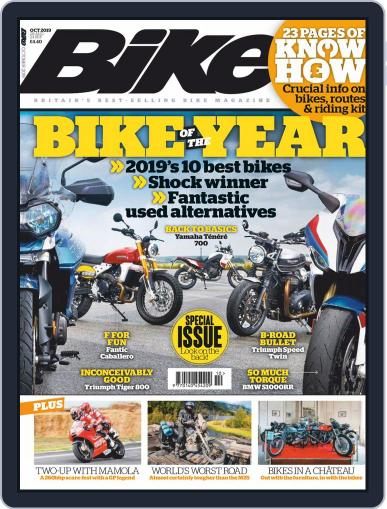 BIKE United Kingdom (Digital) October 1st, 2019 Issue Cover